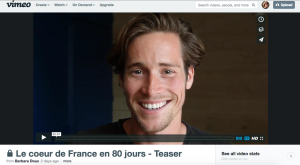 The Heart of France in 80 days teaser